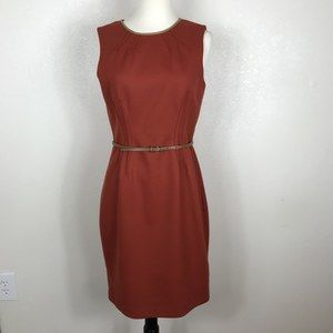 Elie Tahari wool blend sheath dress